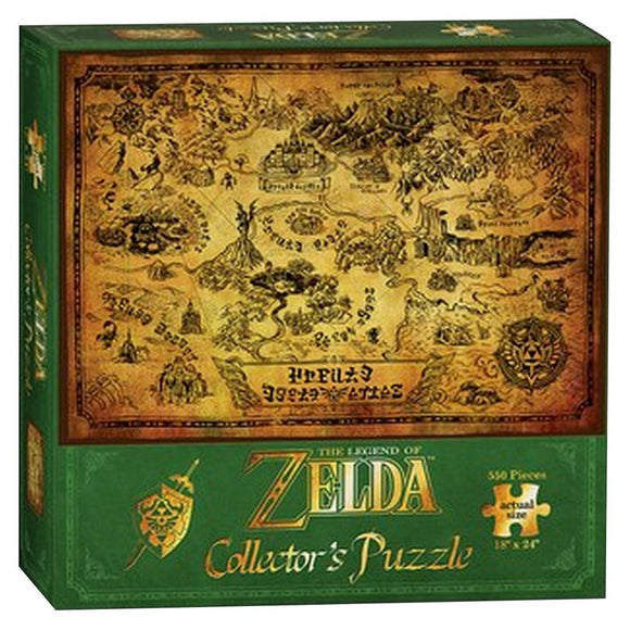 The Legend of Zelda: Hyrule Map (550 pc puzzle)