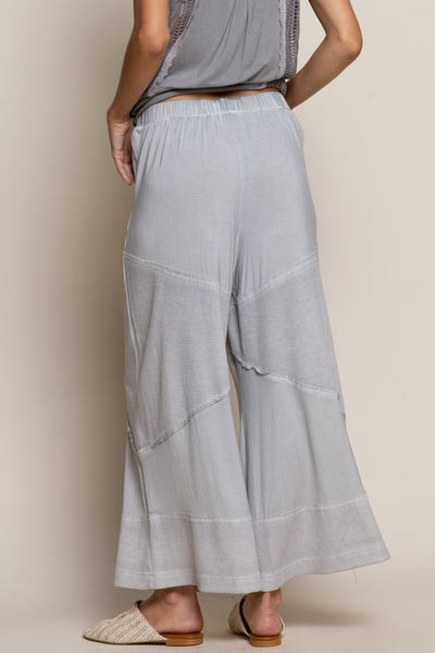 Loose Knit Dove Gray Pant
