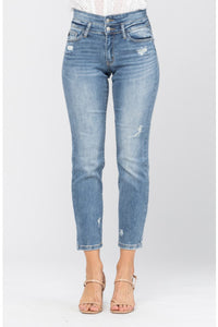 Double waistband Relax Fit Judy Blue Jeans