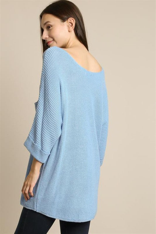 Light Knit Oversize Sweater