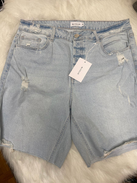 Ms. Cello Jean Shorts SALE