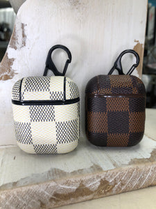 Checkered Airpod Case