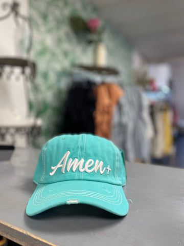 Amen Embroidered Hat