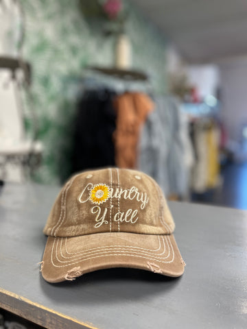 Country Y'all Hat