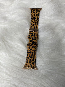 Leopard Buckle Watch Band