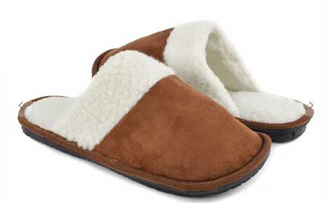 Men's Solid Slippers