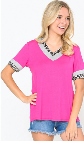 SALE Cheetah Girl Pink
