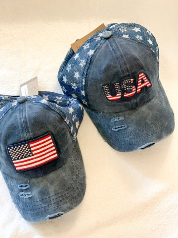 Star Patriotic Hats