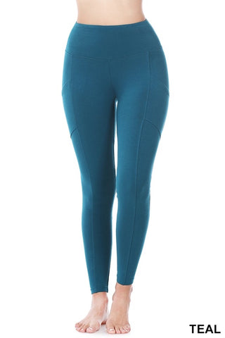 Better Cotton Wide Waistband Leggings