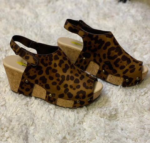 SALE Cheetah Sandal