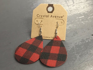 Hometown Plaid Earrings