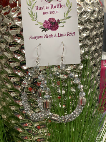 Shiny Crystal Earrings