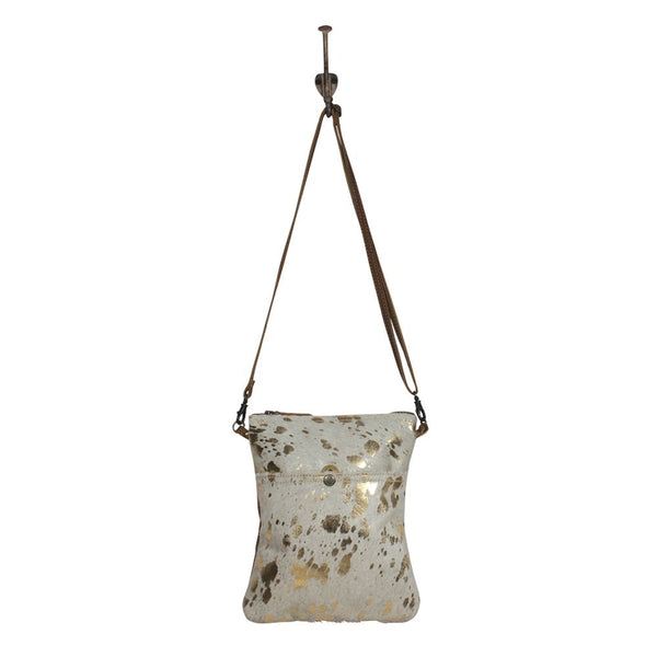 Myra Speckled Leather Small Crossbody Bag 2082