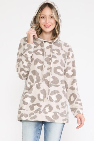 Cuddle Up Mocha Pullover