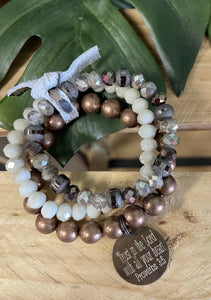 Trust in the Lord Bracelet Set