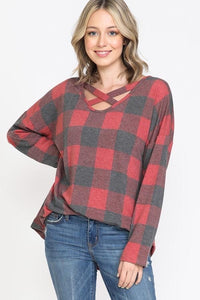 The MUST HAVE Plaid Top of Fall