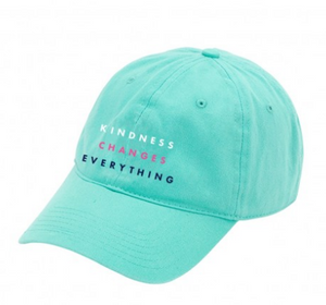 Kindness Changes Everything Mint Cap