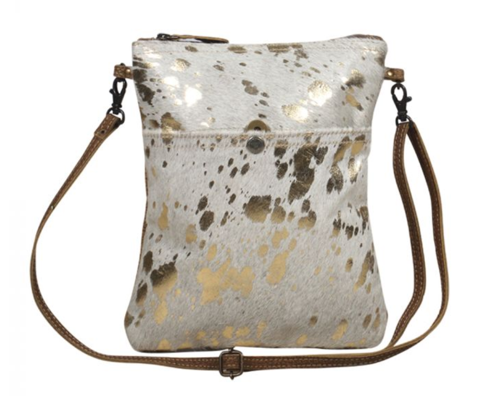 Myra SPECKLED LEATHER SMALL & CROSSBODY BAG