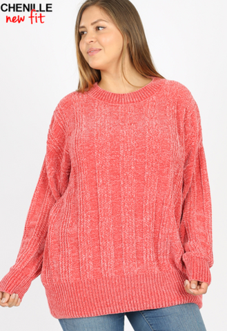Amy's Chenille Sweater