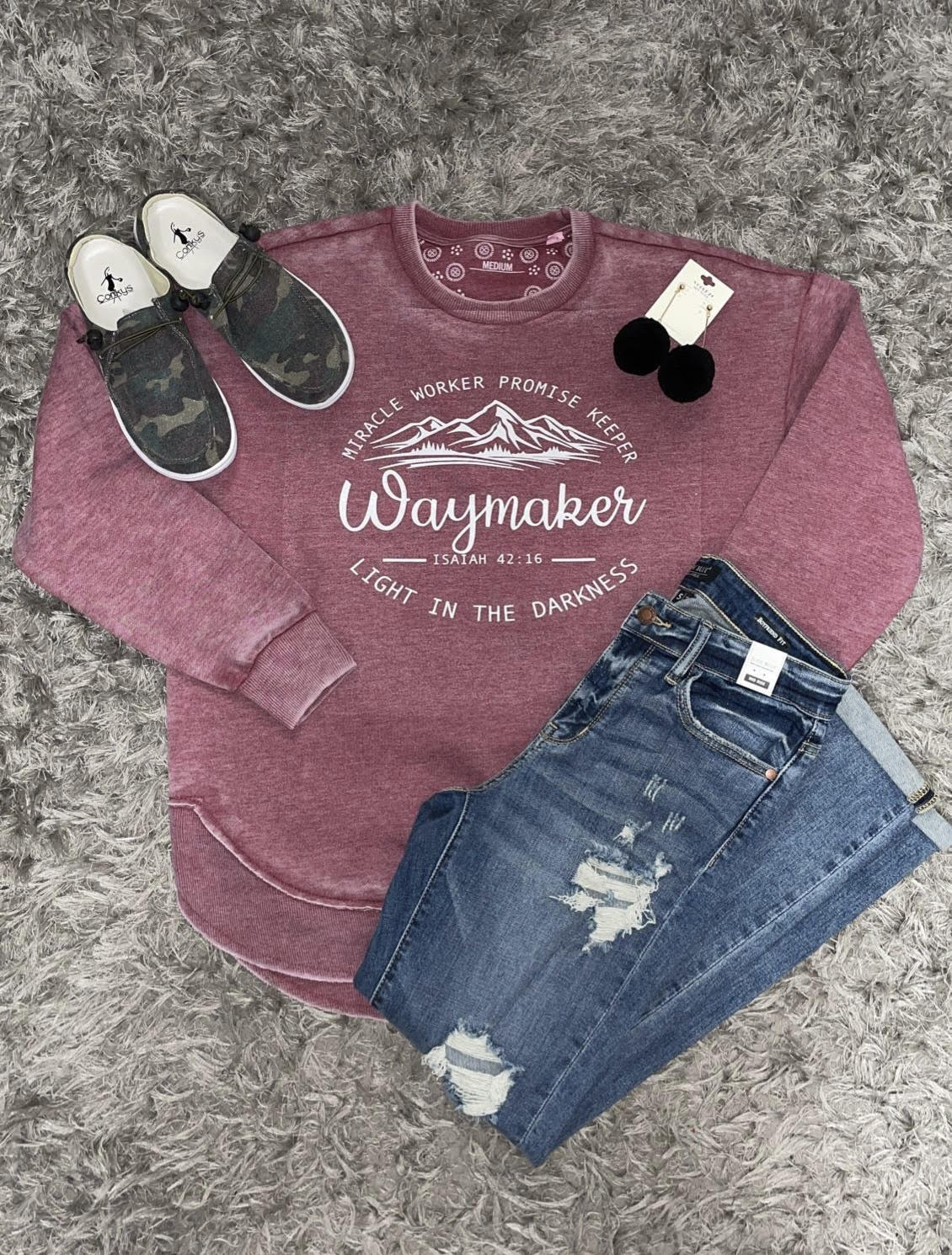 Waymaker Crimson Sweatshirt