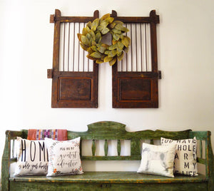 Pillows, Vintage Store, Farmhouse decor near me, Farmhouse pillows in fort smith, handmade pillows, BrickCity, Fort Smith Mall, Brick City, pillow gifts, Vintage furniture, Vintage inspired gifts, gift shop in fort smith, best place to buy a gift in fort