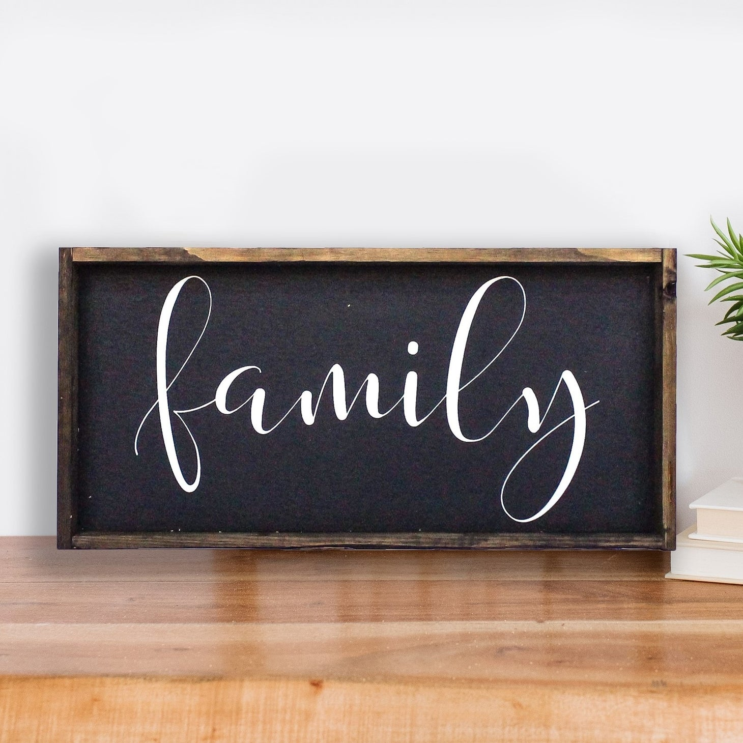 COMING SOON! Family Wood Sign
