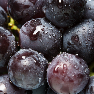 Seedless Grapes, Black x 500g