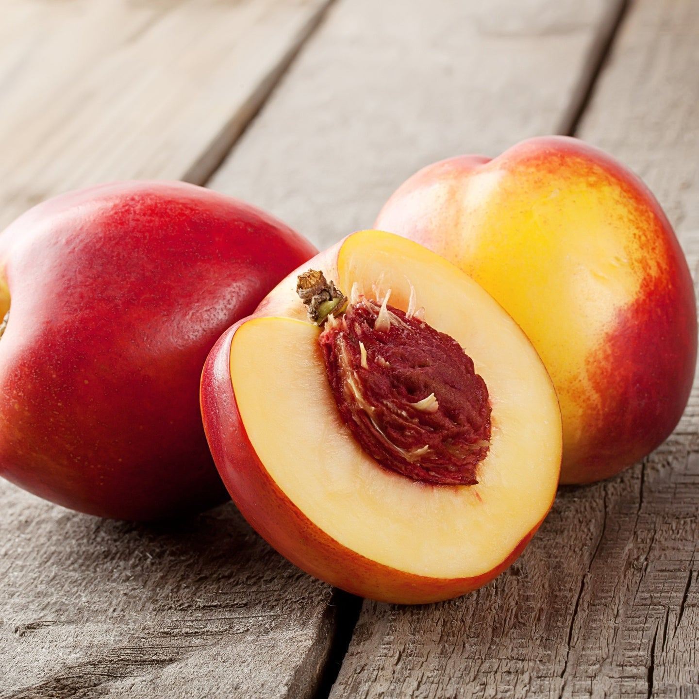 Nectarines, Ready To Eat, AA Large, White Flesh x each