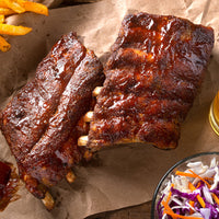 Pork, Smoky BBQ Back Ribs x sheet