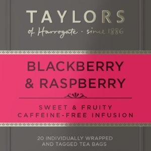 Taylor's Blackberry/Raspberry Tea x 100