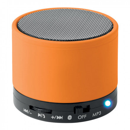 Nomade enceinte ronde orange