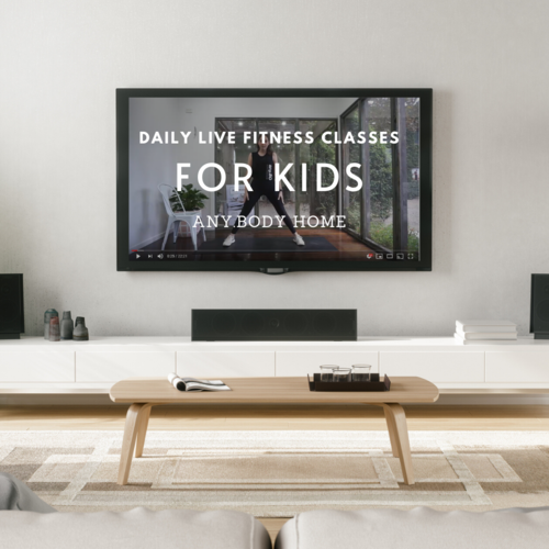 Live Online Kids Fitness Classes | any.BODY Kids @ Home