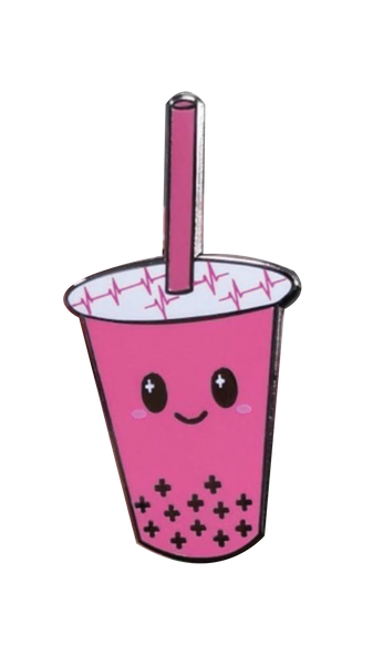 Watermelon Boba Med Pin
