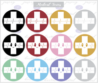 Medical Series Magnets/ Stickers