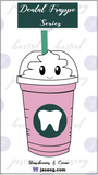 Strawberries & Creme Dental Frappe Pin
