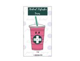 Pink Drink Medical Refreshers Pin