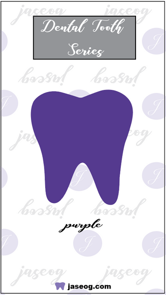 Purple Dental Tooth Pin