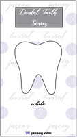 White Dental Tooth Pin