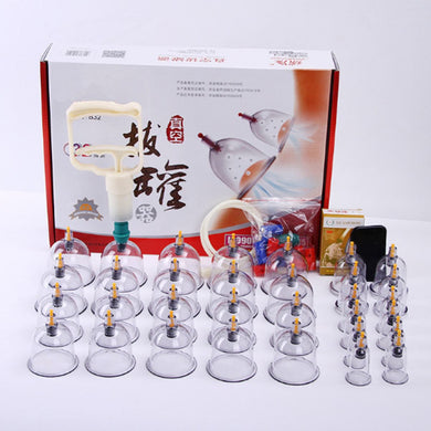 Cupping Vacuum Chinese Kit Massage Suction Body Therapy Cups Set 32 Cup Acupuncture 24 Healthy Medical - chianostore