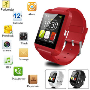 U8 Bluetooth Smart Watch 1.44inch Sport Wristwatch Smartwatch For Android Phone - chianostore