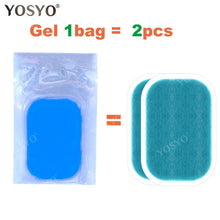 Load image into Gallery viewer, Replacement Gel Pads For EMS Trainer Weight Loss Abdominal Muscle Stimulator Exerciser Replacement Massage Gel - chianostore