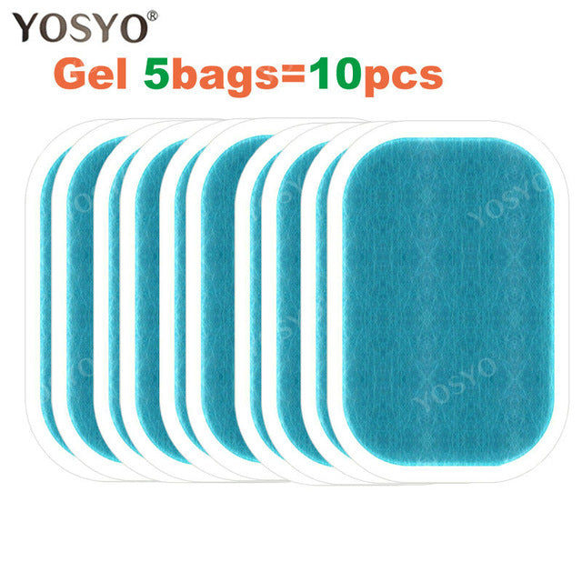 Replacement Gel Pads For EMS Trainer Weight Loss Abdominal Muscle Stimulator Exerciser Replacement Massage Gel - chianostore