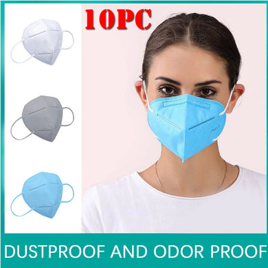 10pcs Facemask Air Purifying Face Cover Cover Dust Safety Multi Layer Mouth Filter - chianostore