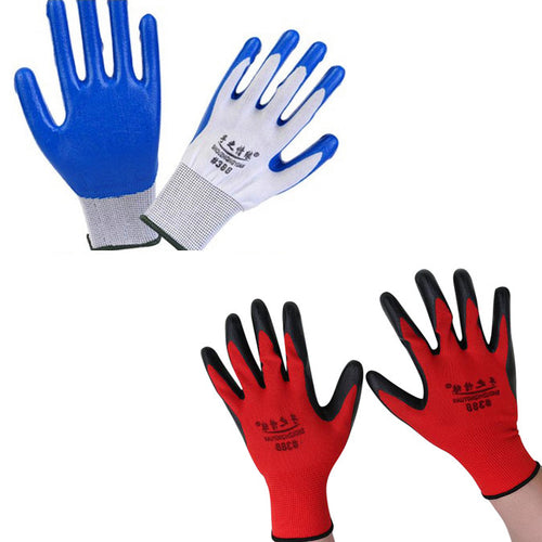 Wearable Coated Gloves Unisex Automotive Work - chianostore