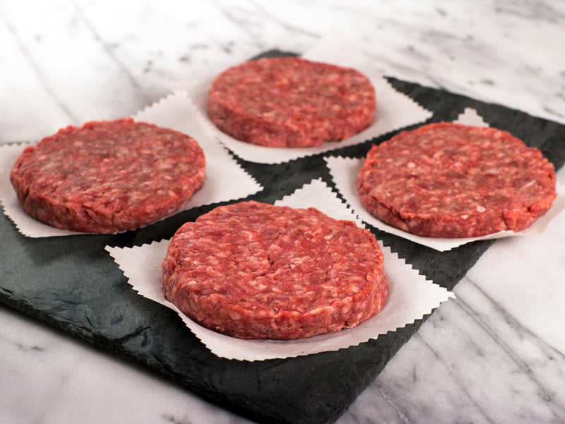 Angus Quarter Pounder Burgers (4 pack)