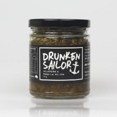 Drunken Sailor Jalapeno & Tequila Relish (295g)