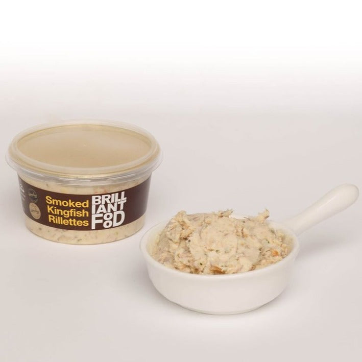 Brilliant Smoked Kingfish Rillettes (200g)
