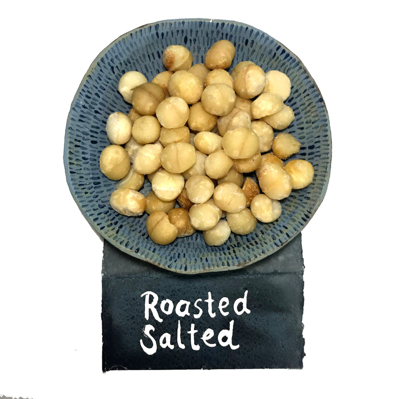 Roasted and Salted Macadamias