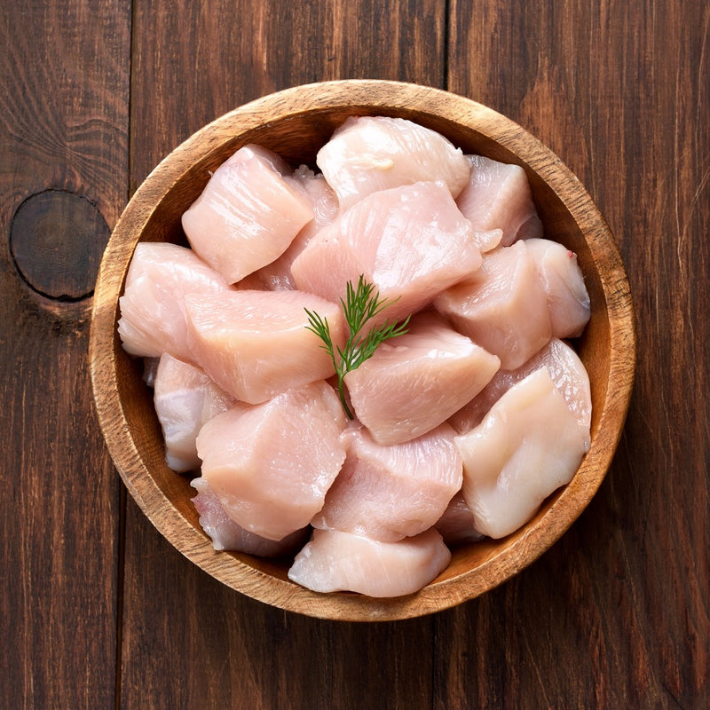 Chicken Thigh Fillet Diced (500g)