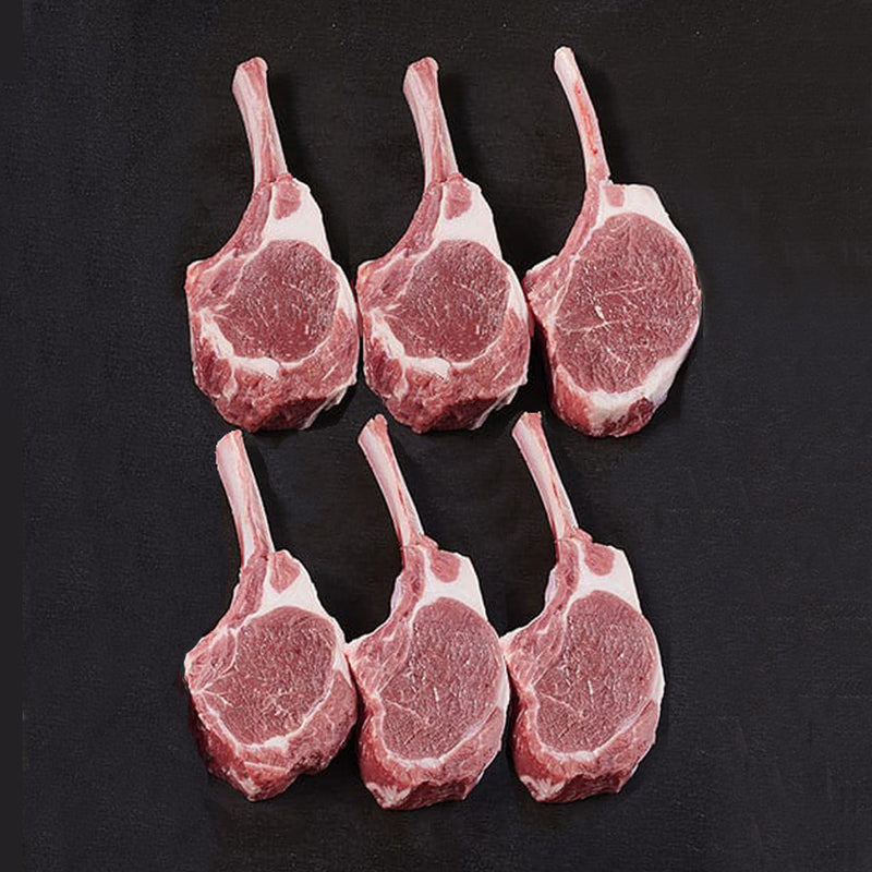 Pasture Fed Lamb Cutlets French Trim 85GRM (6 pack)